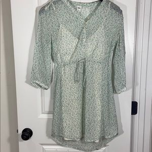 3/$20 Spring Dress Old Navy with Slip Small
